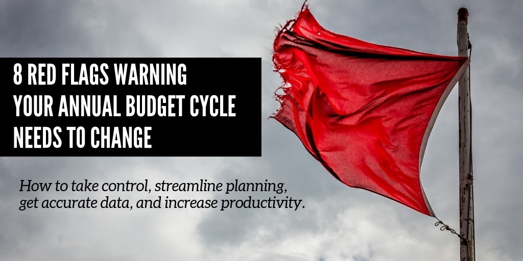 LBMC Technology Solutions: 8 Red Flags Your Annual Budget & Planning