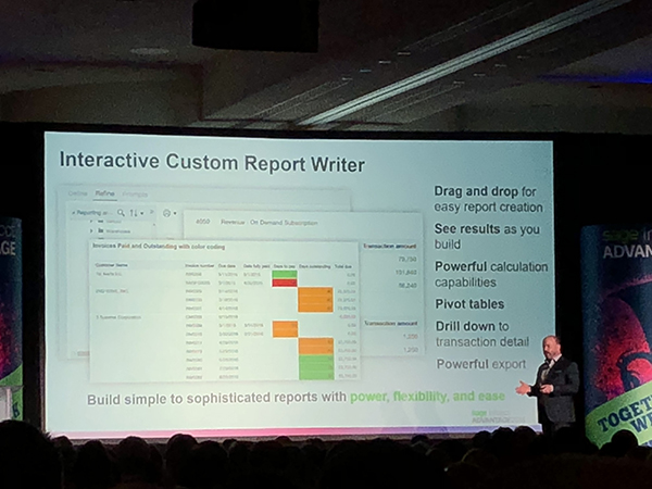 Sage Intacct: Interactive Custom Report Writer