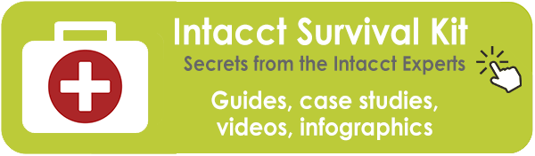 Intacct Resources, Guides, Checklists, Videos, PDFs