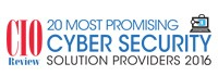 CIO Review 20 Most Promising Cyber Security Solution Providers 2016