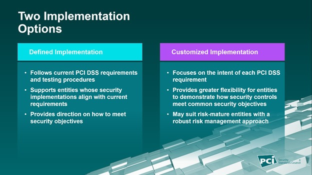PCI 4.0 - Two implementation options