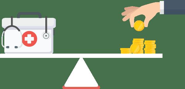 Contractual allowance vs. bad debt for healthcare providers